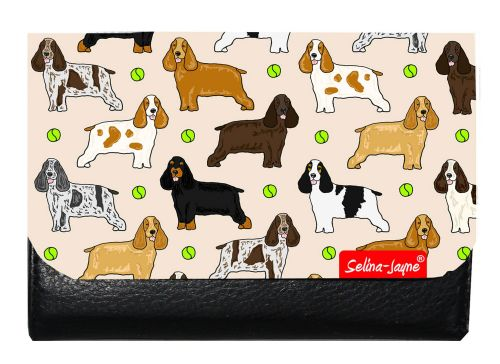 Selina-Jayne Cocker Spaniel Limited Edition Designer Small Purse